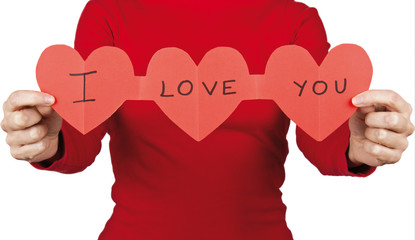 Signboard hearts