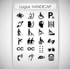 présentation logos handicap
