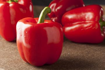 Fresh Organic Red Bell Pepper