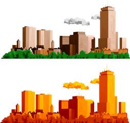 Skyline illustration
