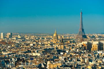 View of Tour eiffel, paris, France.