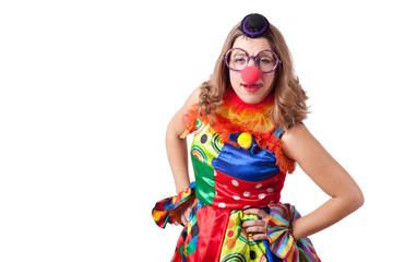 Wall Mural - clown