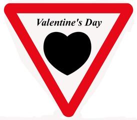 attention saint valentin