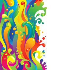 Liquid paints