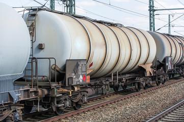 Güterwagen für Gefahrguttransporte