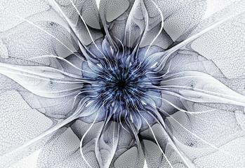 Wall Mural - Futuristic flower