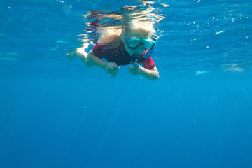 small diver