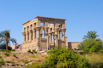 Trajan Kiosk of Philae, Egypt