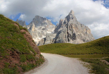Italy beauty, Dolomity, near to Pale di San Martino group