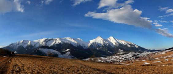 Slovakia beauty, Belianske Tatras mountain panorama