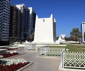 Square in the city of Abu Dhabi, United Arab Emirates
