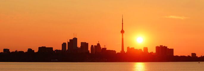 Fototapete - Toronto sunrise