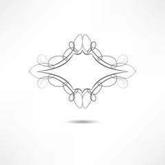 Ñalligraphic design element