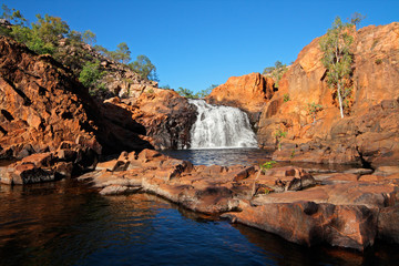 Foto op Canvas Australië Waterfall, Kakadu National Park