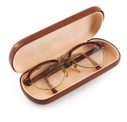 vintage glasses in cover