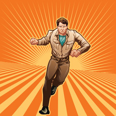 Aluminium Prints Superheroes Everyday Hero