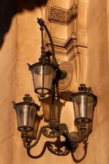 Streetlamp in Paris, Ile France, France
