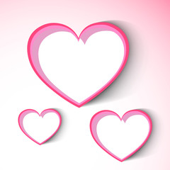 Happy Valentines Day background, greeting card or gift card, lov