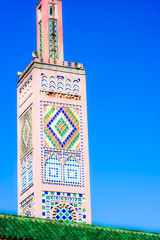 Typical mosque in Morocco.
