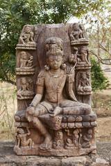 Buddha image in Udayagiri in Orissa.