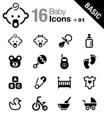Basic - Baby icons