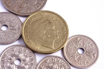 Danish coins.