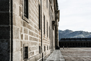 El Escorial - historical residence of the king of Spain