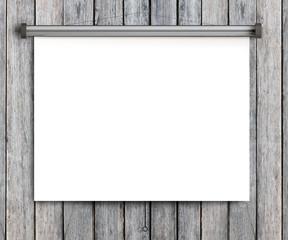 paper placard