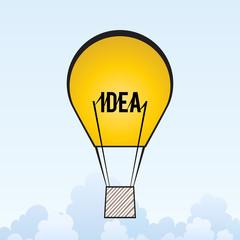 Wall Mural - Idea Air Balloon