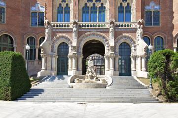 Das Hospital de la Santa Creu i Sant Pau