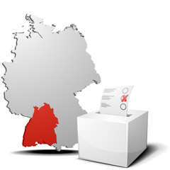 vote germany Baden-Wuerttemberg