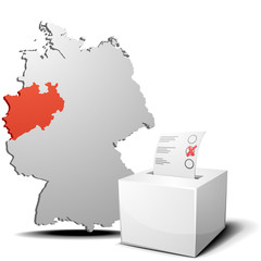 vote germany North Rhine-Westphalia
