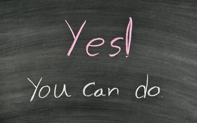 yes you can do on blackboard
