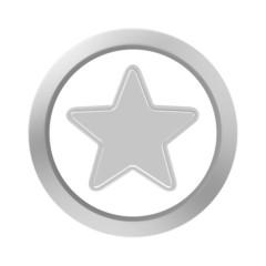 button chrome star