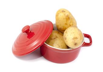 casserole rouge de pomme de terre