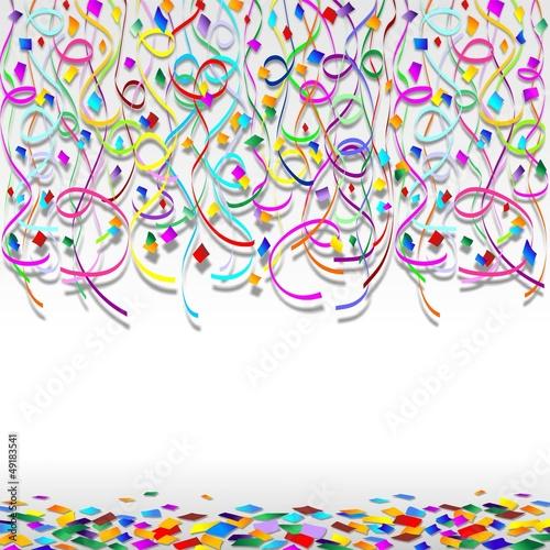 Carnevale e ghirlande sfondo festa carnival party for Scarica clipart