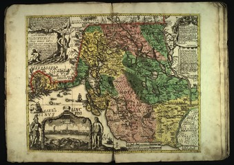 Old Russian map