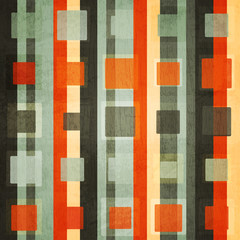 abstract orange square seamless with grunge effect