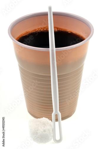 gobelet de caf et pierre de sucre photo libre de droits sur la banque d 39 images. Black Bedroom Furniture Sets. Home Design Ideas