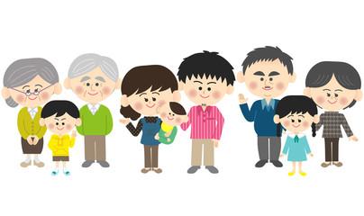 4世代家族