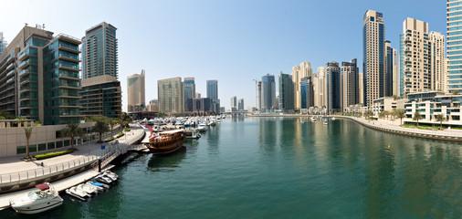 Dubai Marina from Bridge