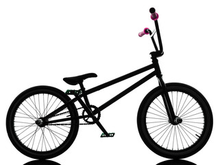 bmx bicycle silhouette