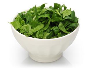 fresh chopped spinach