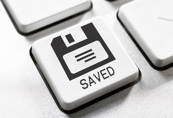 Saved button