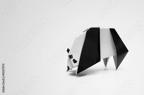 Panda Origami Stock Photo And Royalty Free Images On Fotolia
