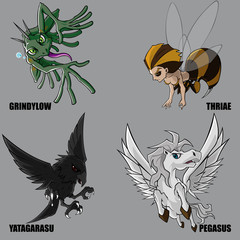 Mythical Creatures Set 13