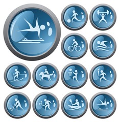 Sport button set