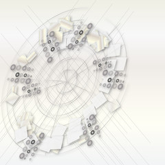 abstrakcyjne koło