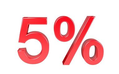 5% Sale Discount