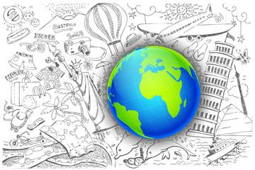 Travel around Globe